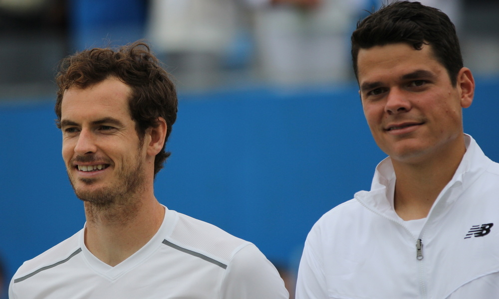 Andy Murray - Milos Raonic